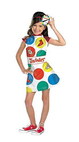 Twister Child 7-8 Kids Girls Costume - Twister Girl Halloween Costume