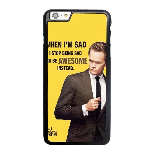 Coque,Apple Coque iphone 6 6S (4.7 pouce) Case Coque, Generic Quotes From How I Met Your Mother Cover Case Cover for Coque iphone 6 6S (4.7 pouce) Noir Hard Plastic Phone Case Cover