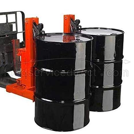 33-1//4 Width x 34 Height x 34 Depth 1000 lbs Capacity Wesco 240092 Gator Grip Economy Dual Drum Grab