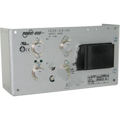 Power Supply; AC-DC; 24V@4.8A; 100-264V In; Open Frame; Panel Mount; Linear Bel Power Solutions HD24-4.8-AG