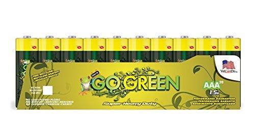 GoGreen Power 21021 Super Heavy Duty AAA 20pk by Go Green Power Inc. by Go Green Power Inc.