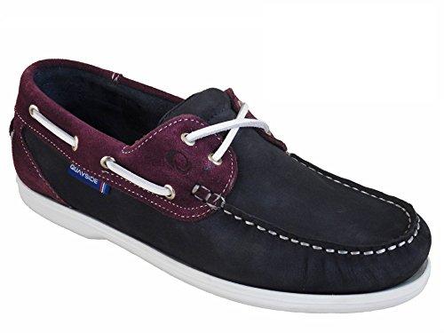 Navy Plum Ladies Deck Bermuda Shoes Quayside Quality SnqwYqXT