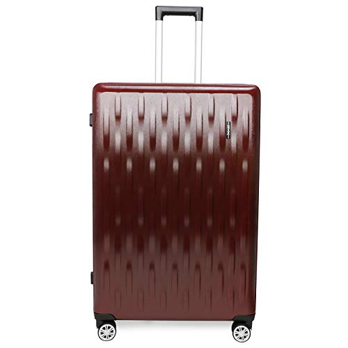 ZEVOG Barcelona Cabin Luggage Dark Mehroon 20 Inch