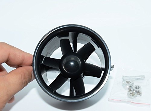 Man 12' Collectible Figure - FidgetKute 70 mm Duct Fan Unit 6-Blade Prop Kit for RC Ducted Fan Jet EDF AirPlane Aircraft
