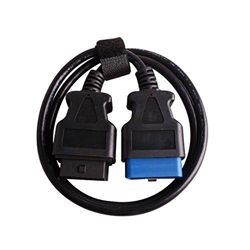 Câble d'extension mâle vers femmelle OBD2 OBDII (150 cm); câble d'extension 16pin ODB2. JDiag