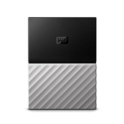 WD 1TB Black-Gray My Passport Ultra Portable External Hard Drive