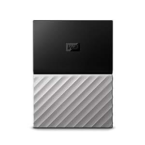 WD 3TB My Passport Ultra Portable Storage with Metal Finish - USB3.0 - WDBFKT0040BGY-WESN