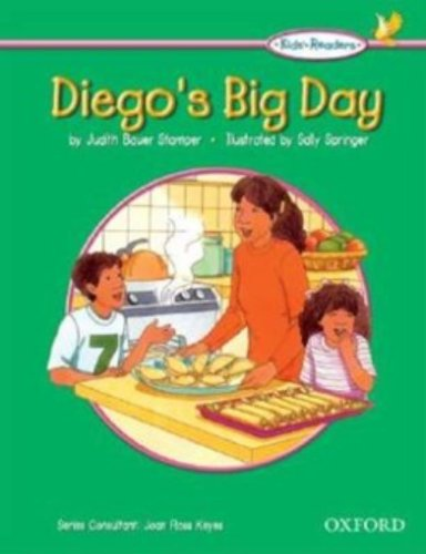 Diego's Big Day: Kids Reader Diego's Big Day (Oxford Picture Dictionary for Kids)