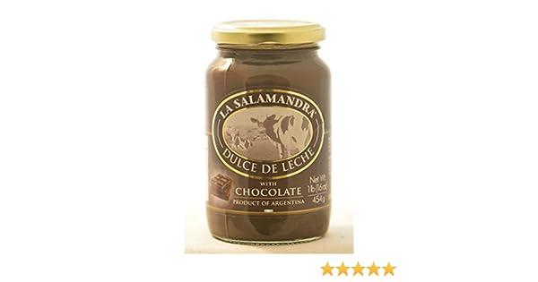 Amazon.com : La Salamandra Dulce De Leche with Chocolate : Grocery & Gourmet Food