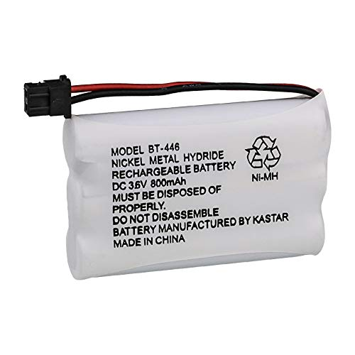 Kastar Cordless Phone Battery Replacement for Radio Shack 23-961 23-904 43-5561 43-5562 43-5862 and Uniden BT-446 BP-446 BT1005 BBTY0457001 ()
