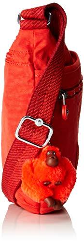 Rosso Tracolla active Red Borse A Arto Donna Kipling 61qaxa