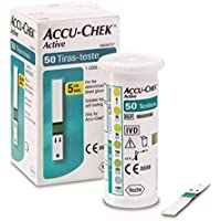 Tiras Accu Chek Active - c/ 50 UNIDADES - Roche