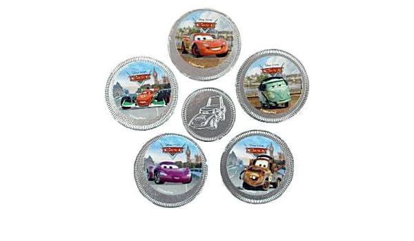 Monedas de Chocolate de Cars de Disney: Amazon.es: Juguetes y juegos