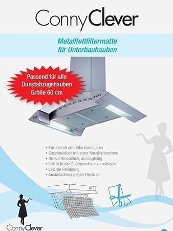 Filtro para campana extractora de aluminio se puede cortar como filtro de larga duración: Amazon.es: Hogar