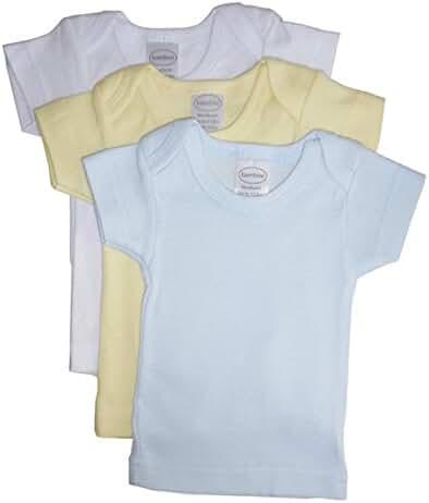 Bambini White Short Sleeve Lap Tee