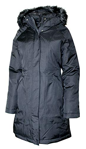 The North Face Women Arctic Parka Winter Down Jacket (TNF Black/Black Logo, L) (North Face Jacket Womens Parka)