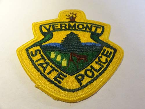 Law Enforcement Patch Police Vermont State Police