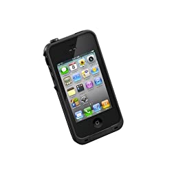 LifeProof Case for iPhone 4/4S - Retail Packaging - Black from fin case