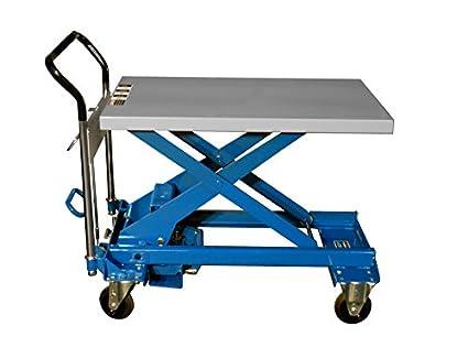 Southworth Products A-800 Dandy Manual Scissor Lift Cart, Foot Pump