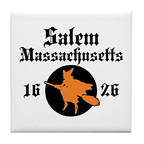 CafePress Salem Massachusetts Tile Coaster, Drink Coaster, Small - Tile Salem