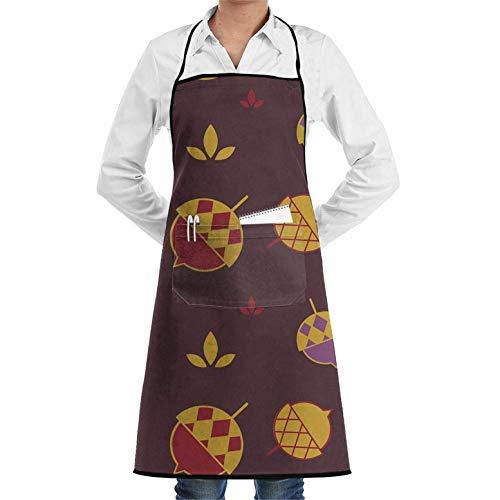 Acorn Bib - Apron with Pockets - Color Acorn Bib Apron for Men Woman Unisex Chef's Aprons Deluxe