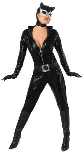 Secret Wishes Batman Sexy Catwoman Costume, Black, Medium