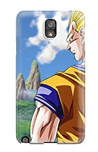 Galaxy Note 3 Case Cover - Slim Fit Tpu Protector Shock Absorbent Case (dragon Ball)