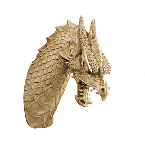 Gifts /& Decor Armored Dragon Wall Crest Castle Theme Decoration Gift