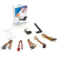 Flysight TX5802 5.8GHz 40CH 200mW FPV Video Transmitter for Long-distance Transmission about 2km (TX5802-SMA)