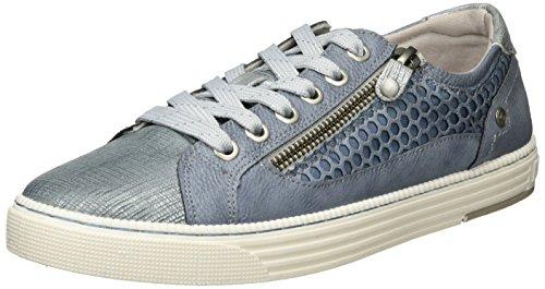 875 Blau Sneakers Bleu Mustang Femme Basses 303 1246 875 Sky z4nnRYE