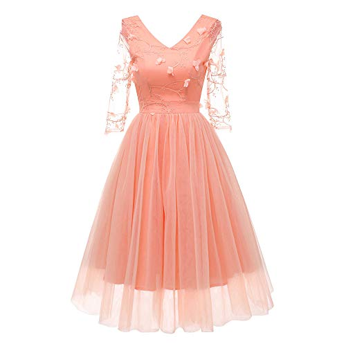 (Lomo Dresses for Women Party Night Wedding Vintage Long Appliques Lace Gowns)