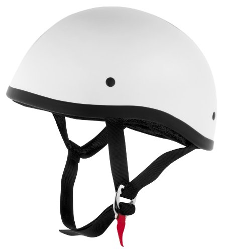 (Skid Lid Helmets Original Solid Helmet , Size: XS, Primary Color: White, Distinct Name: White, Helmet Category: Street, Helmet Type: Half Helmets, Gender: Mens/Unisex XF64-6610)