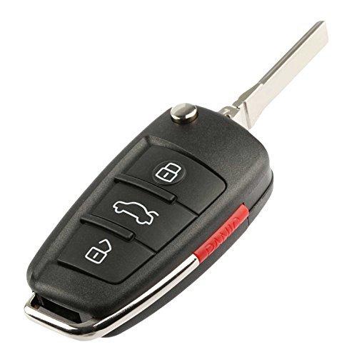 Key fits Audi (2006-2010) MYT-4073A Fob Keyless Entry Remote