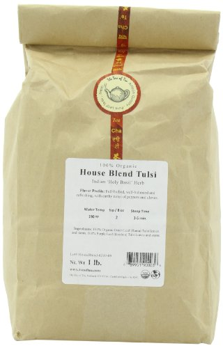 (The Tao of Tea House Blend Tulsi, 100% Organic Blended Tulsi, 1-Pounds)