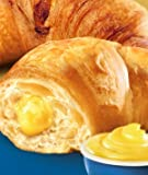 Flora Croissants Pastry Cream, Filled and Ready to
