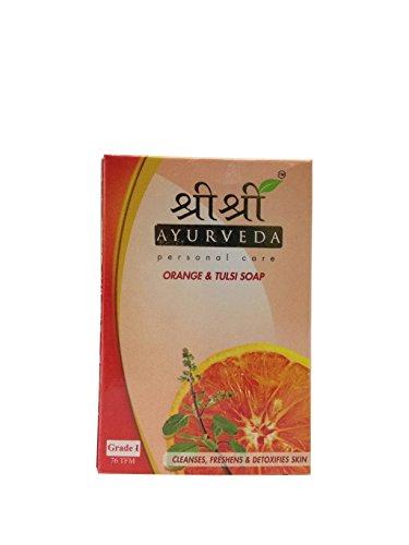 私達なだめる威信Sri Sri Ayurveda Orange & Tulsi Soap 100g…