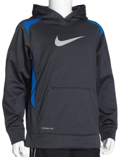 Long Kid's pump 382567 Sleeve Nike Blue Fleece 0Hv6cRqWZR