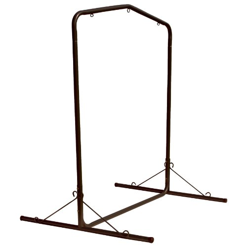 Pawley's Island SWSLBK Steel Swing Stand, Black by Pawley's Island