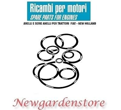 Serie anillas servocomando embrague Dirección Tractor Fiat New Holland 10969 90 C 70