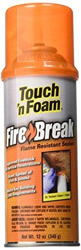 Touch 'n Foam 4004501212 FireBreak Flame Resistant Sealant