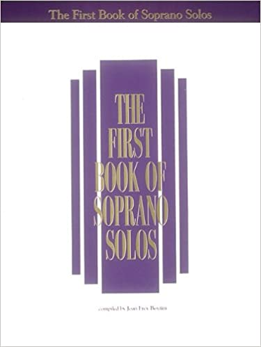 The First Book of Soprano Solos Now with Book//CD packages available for all volumes!