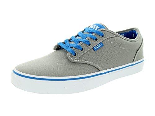 Vans Men's Atwood (Varsity) Mid Gray/Blue Skate Shoe 10 Men US