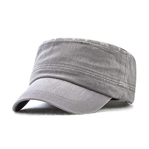 Militar al Mujeres de para Libre qin Hombre B de Gorra Aire Plana Sombreros GLLH de hat algodón Hombres Gorra Gorra B de Moda y Casual Hombres awfBW0I