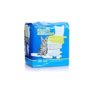All-Absorb 20 Count Cat Litter Pads, 17.1 by 11.8-Inch 81