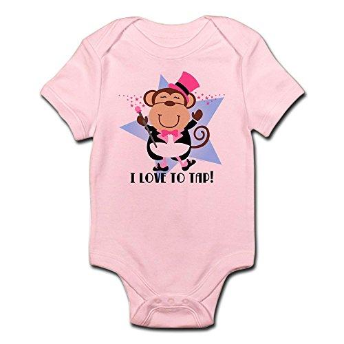 CafePress - Monkey Tap Dancer Infant Bodysuit - Cute Infant Bodysuit Baby Romper