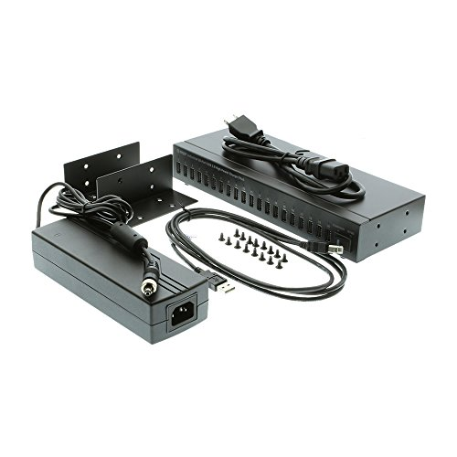 USBGear Industrial 20-Port USB 2.0 High Power Charger/Hub with up to 1.1A Charging by USBGear (Image #2)