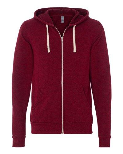 Canvas Unisex Fleece Full-Zip Hooded Sweatshirt (Bella Hooded Pullover)