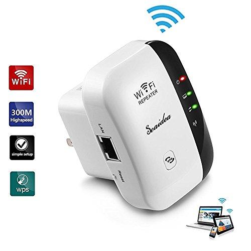 wifi range extender repeater amplifier wireless n. Black Bedroom Furniture Sets. Home Design Ideas