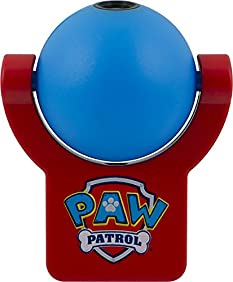Nickelodeon Projectables Paw Patrol LED Plug-in Night Light,  30604, Image Projects Onto Wall or Ceiling