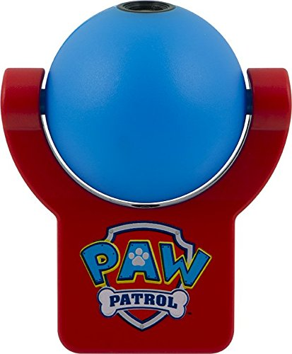 Nickelodeon Paw Patrol Projectables LED Plug-In Night Light, Light Sensing, Dusk-to-Dawn, Image Projects Onto Wall or Ceiling, 30604